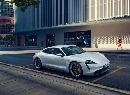 The new Porsche Taycan. Soul, electrified.