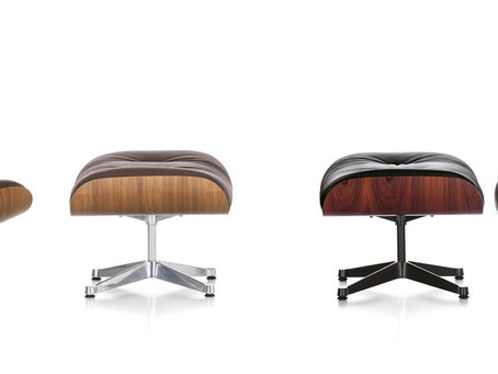 Lounge Chair y Ottoman Charles & Ray Eames, 1956