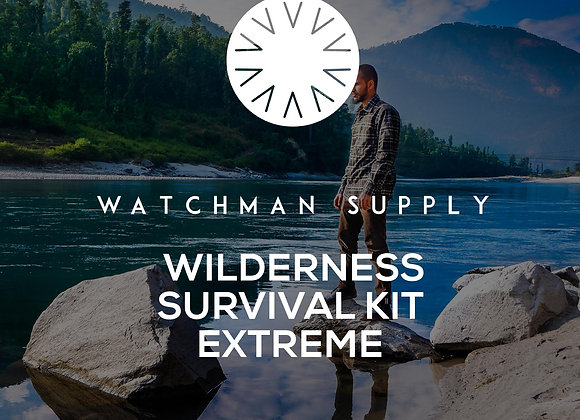 Wilderness Survival Kit - Extreme