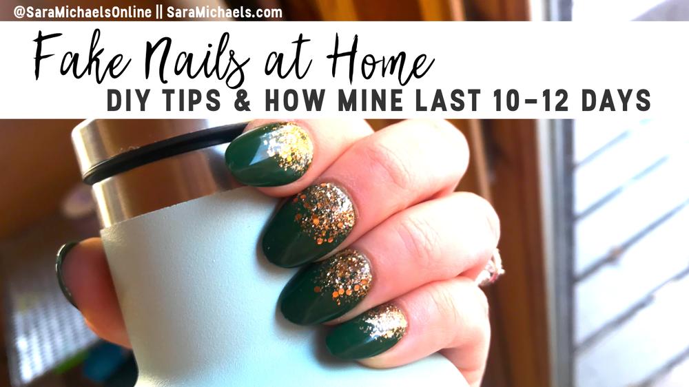 Fake Nails DIY Tutorial: How I Prep + Apply Kiss Impress Nails at Home