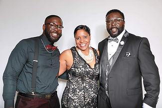 Aaron T. Jones with his Parents