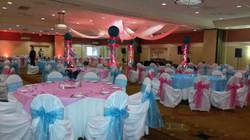 Dance floor and Table Decor
