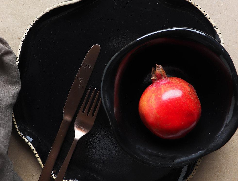 "Shia Dinner Plate - 12"""