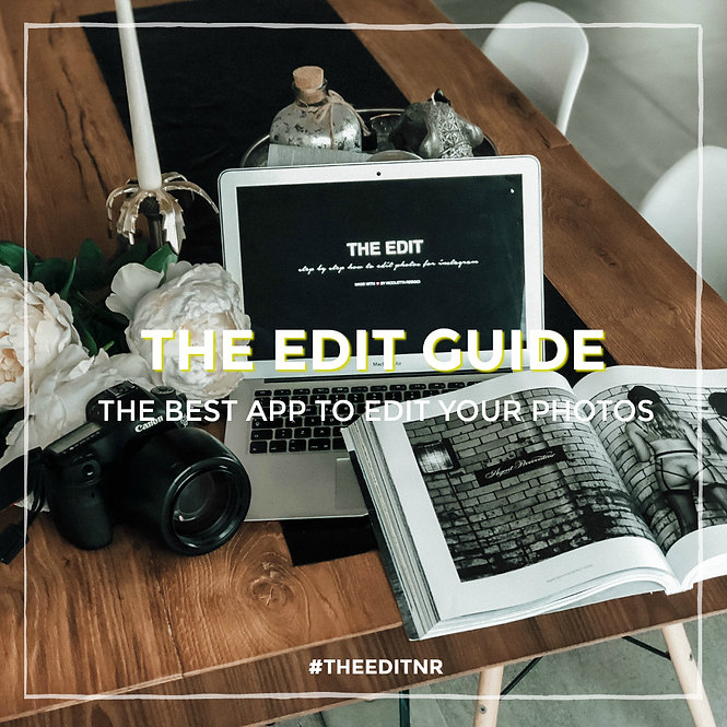 THE EDIT GUIDE