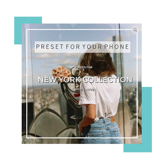 NEW YORK COLLECTION - MOBILE PRESET PACK