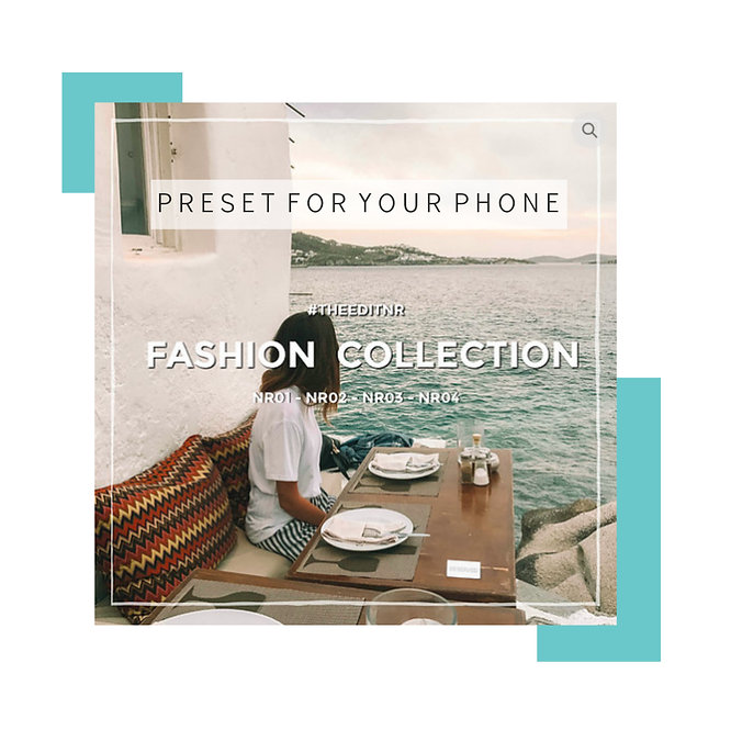 FASHION COLLECTION - MOBILE PRESET PACK