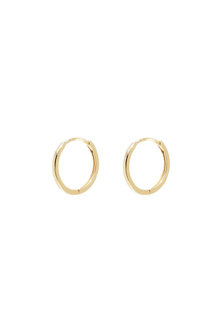Mini gold hoop 11,5