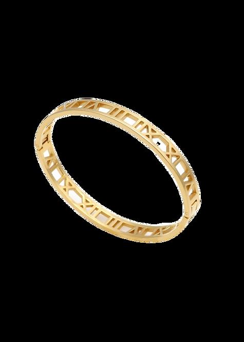 Roman number bracelet