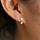 Thumbnail: TINI DIAMOND STAR EARRING