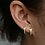 Thumbnail: KELLY STAR EARRINGS