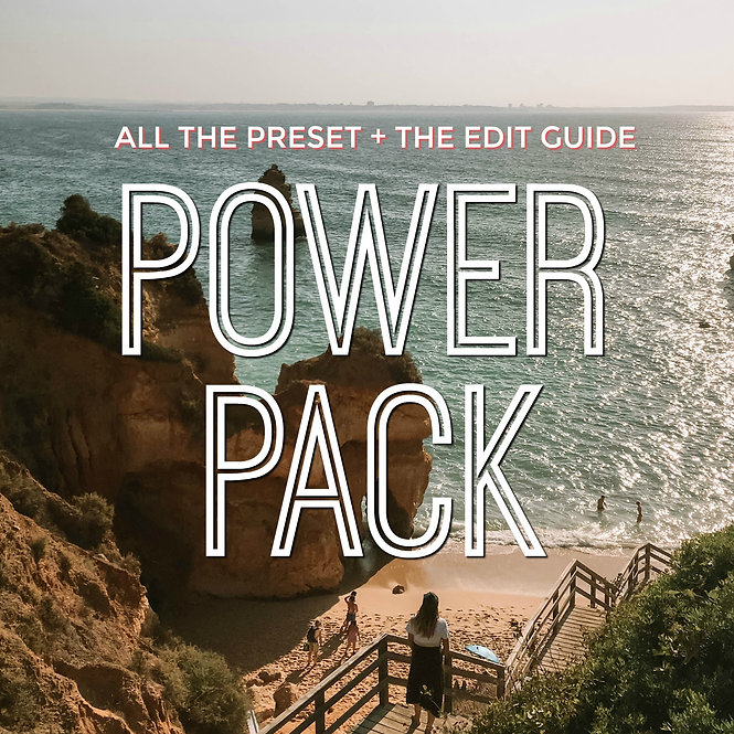 POWER PACK - All preset 12 + The edit guide free