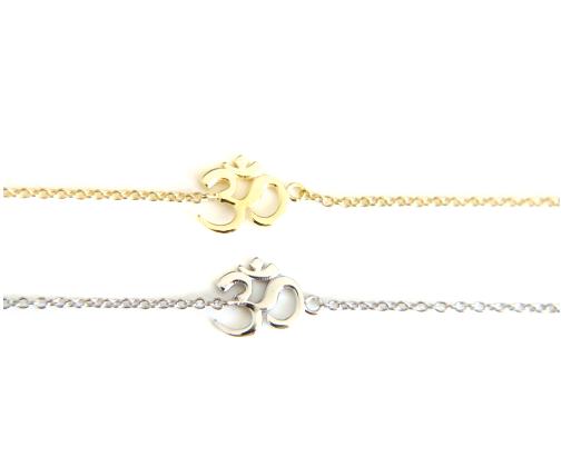 Bracelets Om Charm