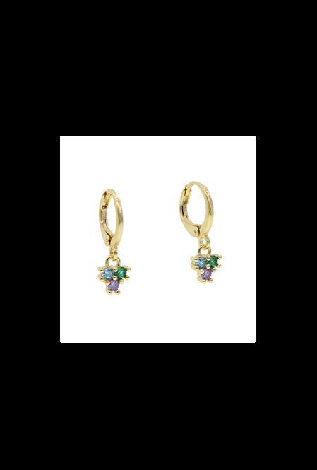Nina hoop earrings