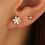 Thumbnail: STAR MOONSTONE EARRINGS