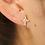 Thumbnail: ASTERISK EARRING