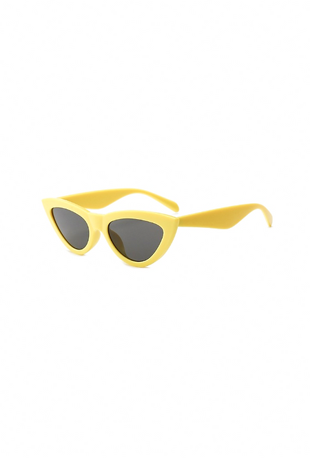CAT SUNGLASSES yellow