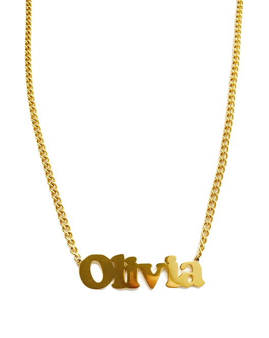 NAME NECKLACE - preorder