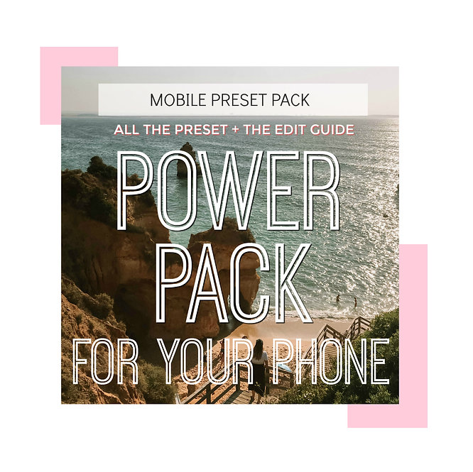 POWER PACK ALL THE PRESET + THE EDIT GUIDE
