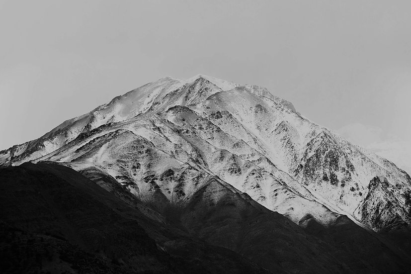 M is for Mountain, Archival Ink Jet Print