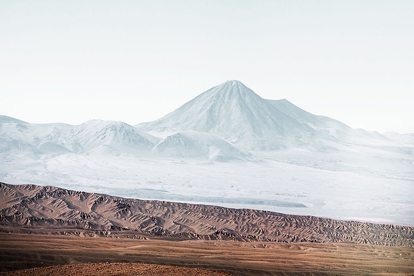 Atacama, Study West of The Andes, Archival Inkjet Print