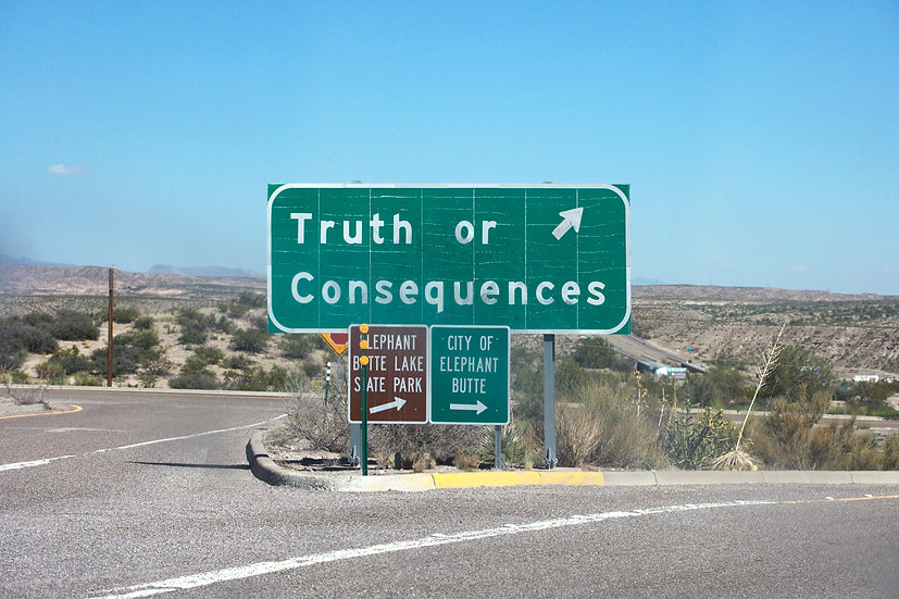 Truth or Consequences, Archival Ink Jet Print