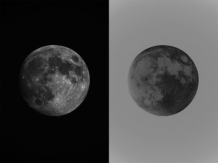 The Moon, Archival Ink Jet Print
