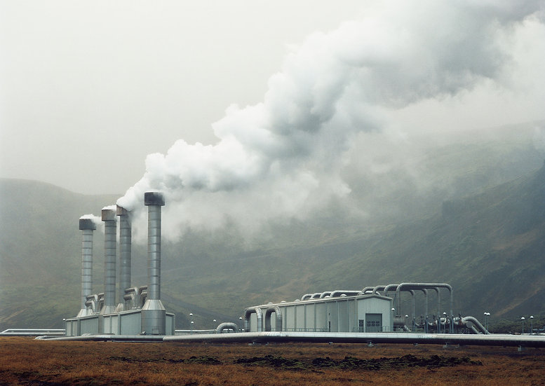 Geothermal Plant, Iceland, Archival Ink Jet Print