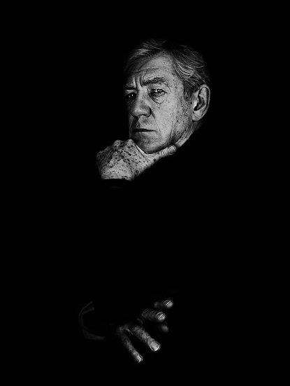 Sir Ian McKellen, Archival Ink Jet Print