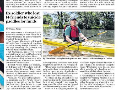 Press coverage in The Telegraph