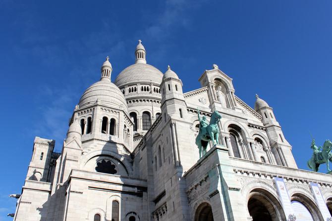 Paris, France - Sacre Coeur de Montmartre