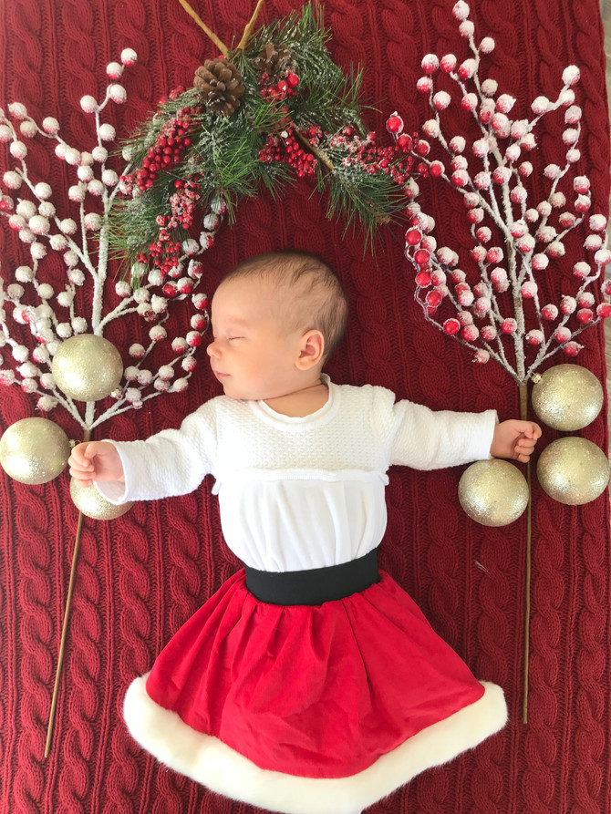Margaux's First Christmas