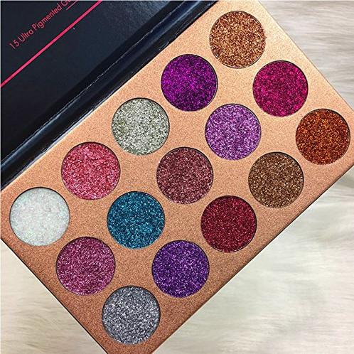 glitter eye shadow palette