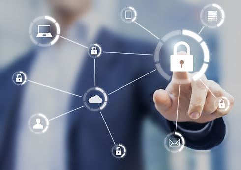 Cybersecurity of network of connected de
