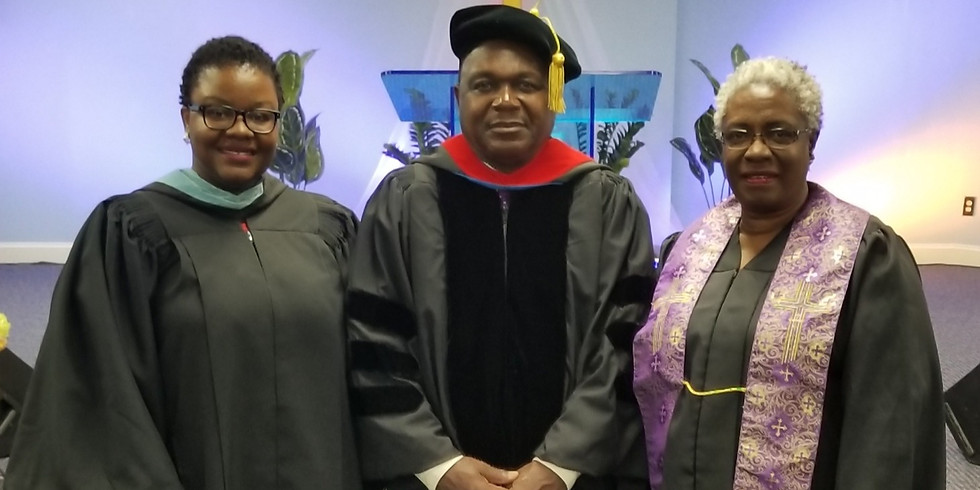 Class of 2019 Graduation Officiant