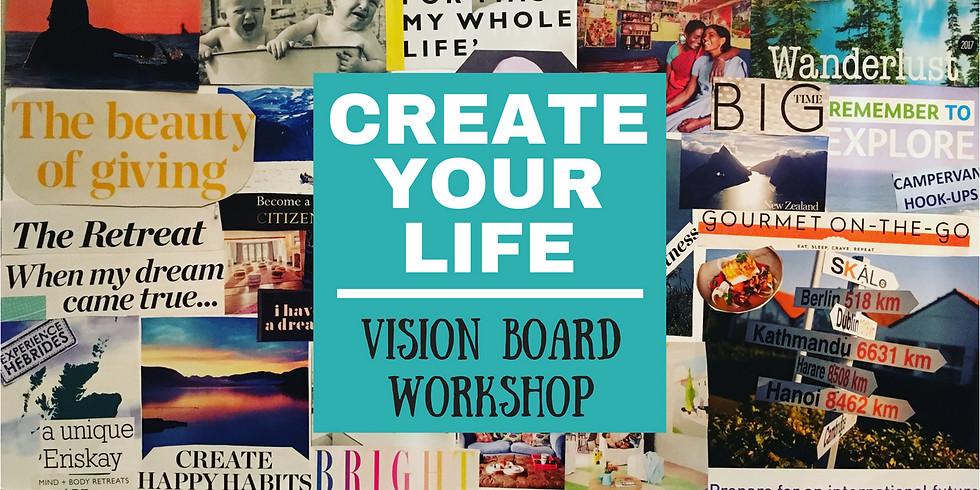 Soaring Higher 2019 - vision board workshop