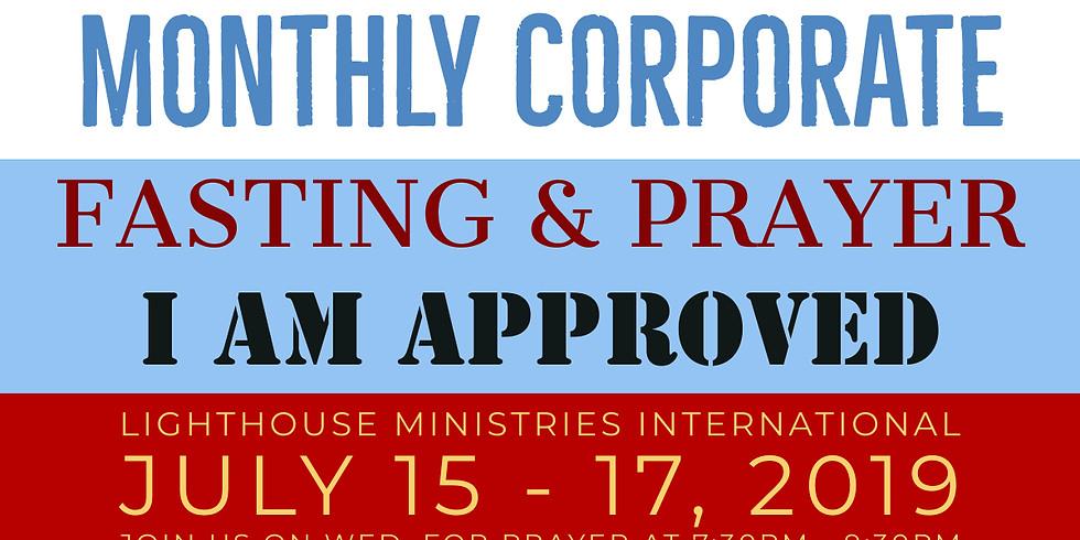 July Prayer Moments with Min. JelC