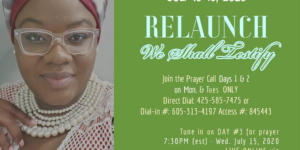 3 Days Fasting & Prayer - July 2020