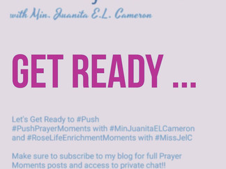PUSH Prayer Moment: By Fire