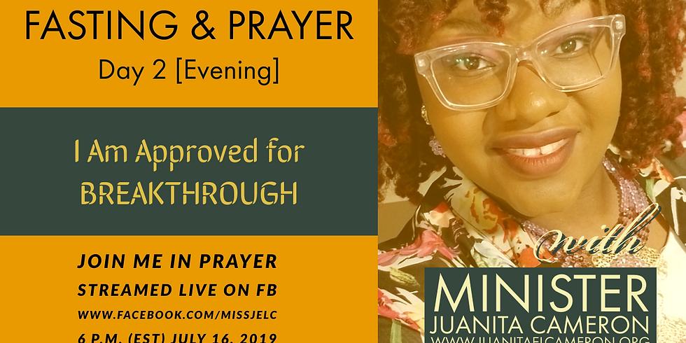 July Fasting & Prayer - LIVE STREAM Day 2