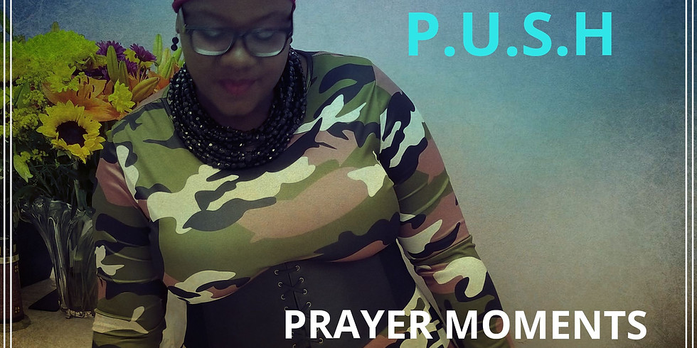 A Time for Gratitude & Rest - Push Prayer Moment: Nov. 2019