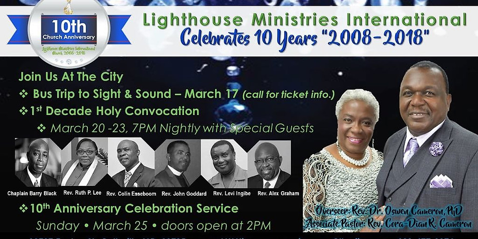 Holy Convocation Celebrations