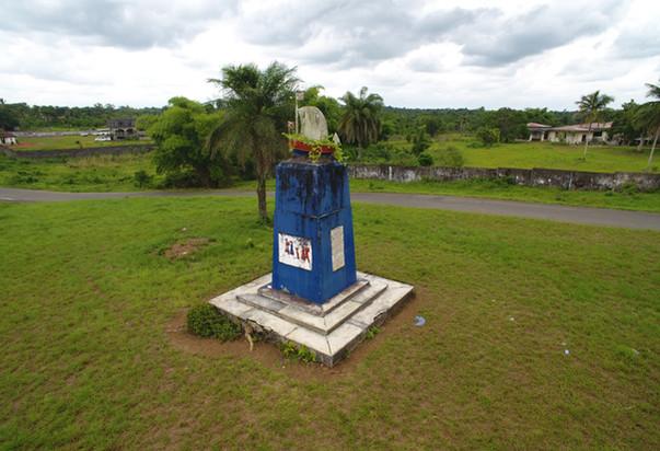 Crozierville Monument.