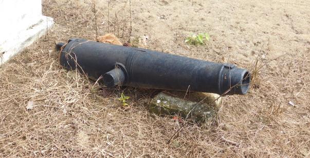 Edina historic cannon.