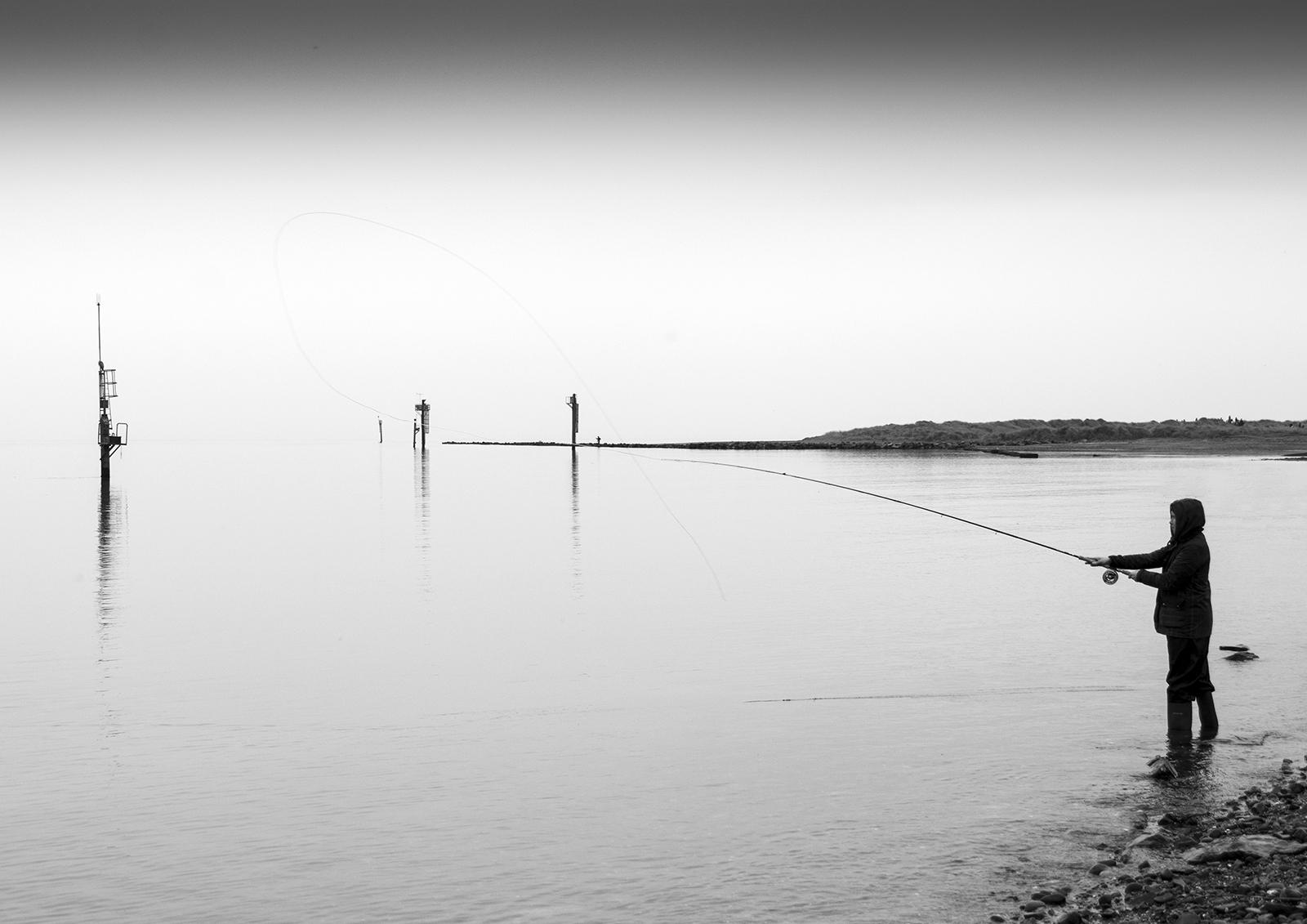 Fishing on the Boyne