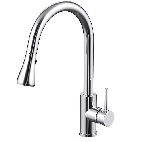 Single-Lever Pull-down Spray Kitchen Faucet