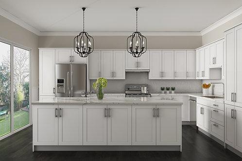 Golden Home - Luxury Series - White Shaker