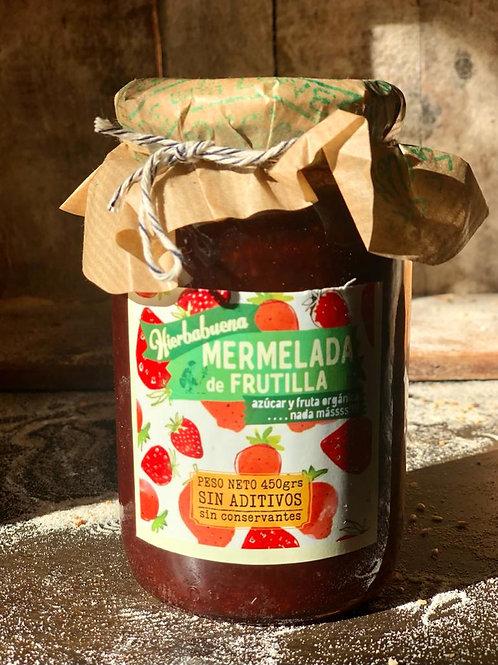 Mermelada Organica de Frutillas x 450g