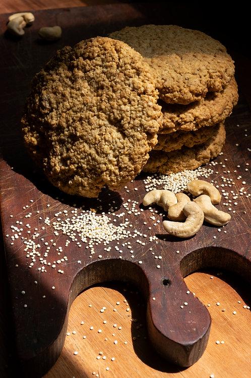 Cookie de Avena, Quinoa y Castañas x Unidad