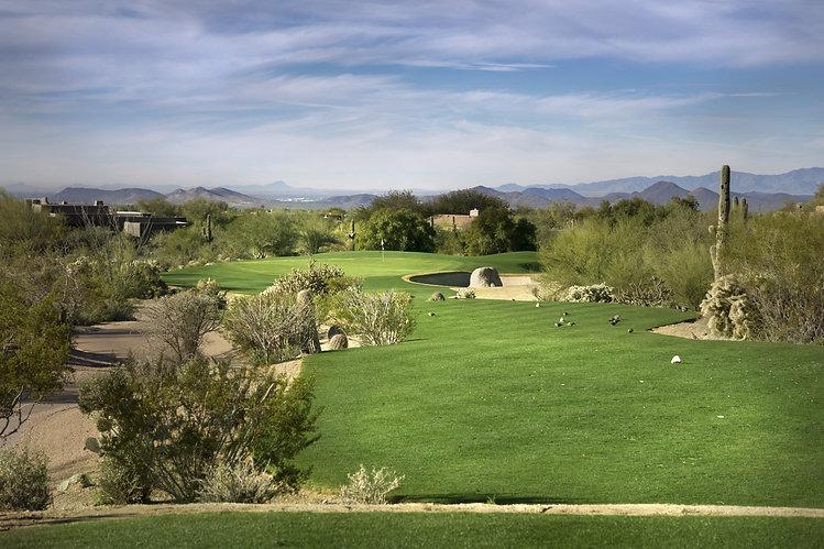 Golf course fairway, Scottsdale,Arizona,