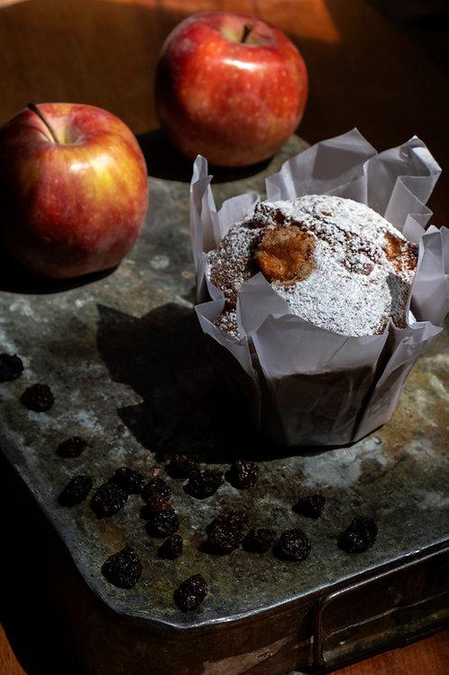 Muffin de Manzanay Pasas